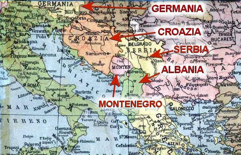 Dalmazia Italiana Cartina.La Auschwitz Del Vaticano